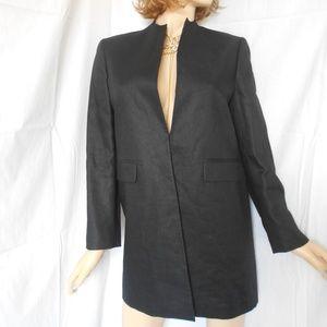 LAUREN RALPH LAUREN Black Single Closure Coat 8P